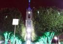 ACEI realiza iluminação natalina na Praça da Matriz
