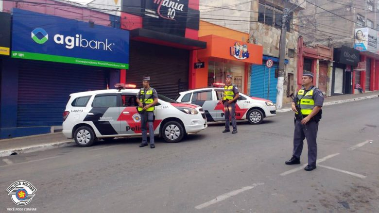 PM realiza operação em Ibiúna