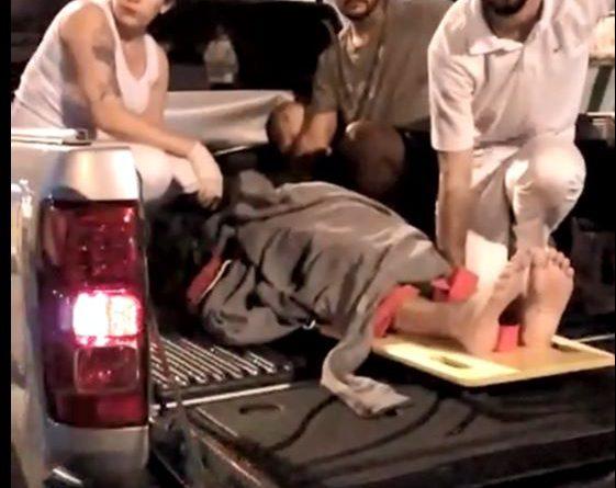 Vítima de acidente é resgatada em caminhonete por falta de ambulância em Ibiúna