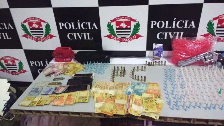 Polícia Civil apreende drogas que seriam comercializadas na Festa de São Sebastião