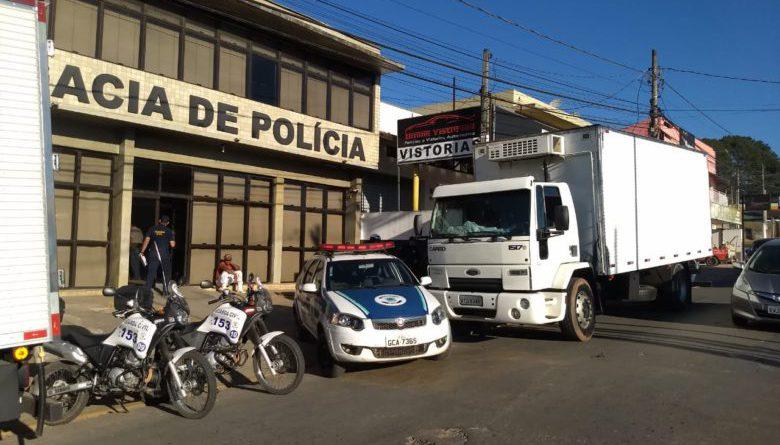 Guarda Municipal recupera no Curral caminhão roubado na Marginal