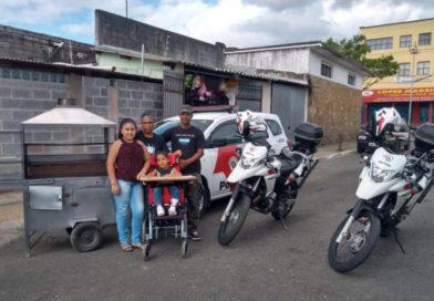 Policiais militares se mobilizam para ajudar família carente em Ibiúna