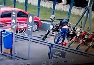 Guarda Municipal prende suspeito de furtar moto em supermercado