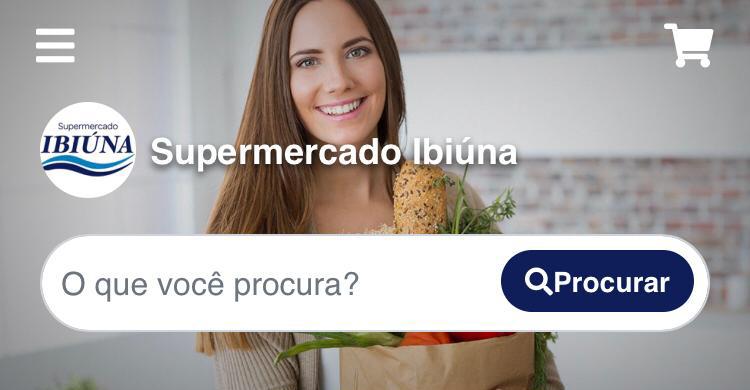 Supermercado Ibiúna lança aplicativo para compras pela Internet