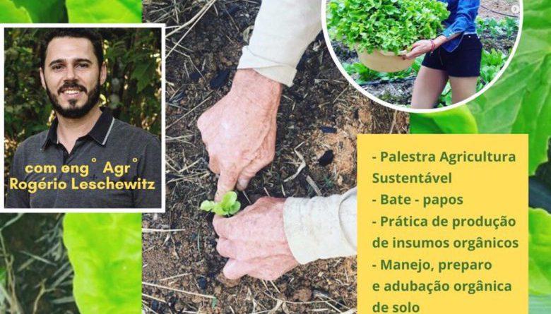 Oportunidade em Ibiúna: oficina de produção de orgânicos