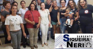 Sargento Siqueira Neri participa de reunião na Zoonoses de Ibiúna