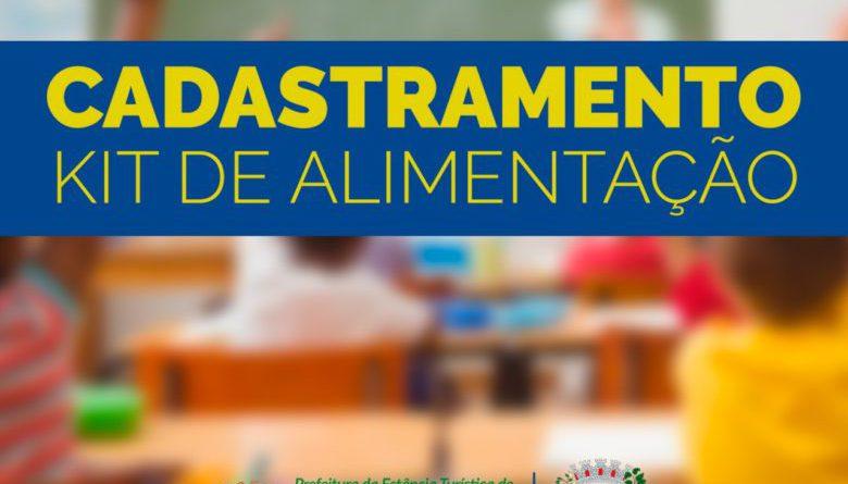 Secretaria de Educação realiza cadastramento para Kit Alimentação