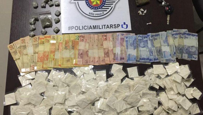 PM de Ibiúna encontra grande quantidade de drogas em caminhonete no Jemima