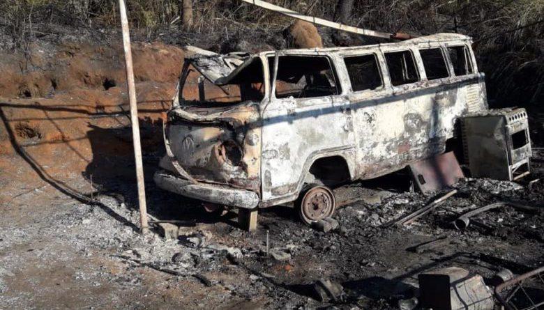 "Ibiunenses se mobilizam para ajudar idoso que teve o ""barraco"" incendiado"