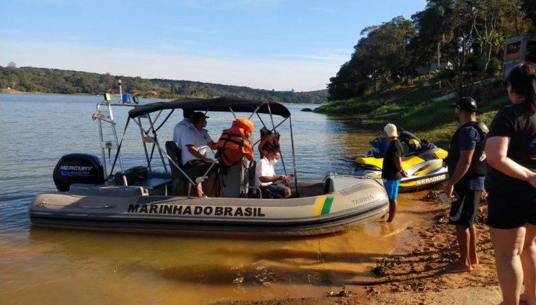 GCM e Marinha realizam ação na Represa de Itupararanga